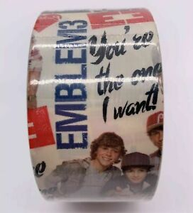 """Emblem 3 Duck Duct Tape 1.88"""" x 10 Yards Craft- 1 roll shipped free"""