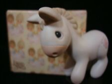 """New ListingPrecious Moments-Donkey-Regular Size Nativity Addition-Almost 3"""" Tall"""