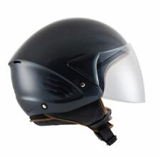 CASCO scooter DEMI JET KYT by Suomy mod COUGAR taglie nero opaco matt black