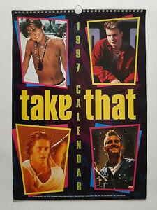 Take That 1997 Calendar