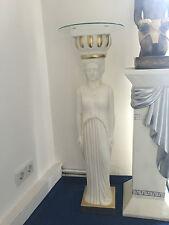 Säule Medusa Style Dekosäule Frauen Garten Säulen Barock Modern 100cm 1006 K-141