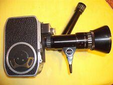 BOLEX PAILLARD B8SL 8mm  camera. Pan Cinor 1.9 / 8-40 Lens Bonus: Marine Binox's