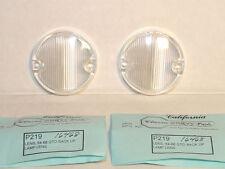 """1964-66 Pontiac GTO Back Up Lamp Lens PAIR  """"Guide"""" Show Quality"""
