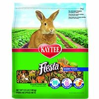 Kaytee Fiesta Rabbit Food, 3.5-Lb Bag