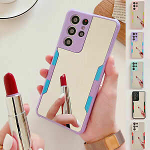 Luxury Mirror Phone Case For Samsung Galaxy S10 S20 S21 Plus Note 10 20 Ultra