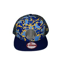 Golden State Warriors NBA Hardwood Classics Camo Face Mesh Trucker 9FIFTY Hat
