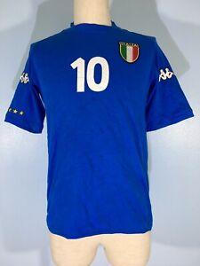 VTG FRANCESCO TOTTI ITALY KAPPA WORLD CUP 2002 FOOTBALL SHIRT SOCCER JERSEY S