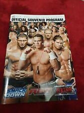 More details for world wrestling wwe official souvenir program john cena batista  edge