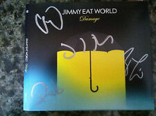 Jimmy Eat World Damage cd signed autographed by the band members