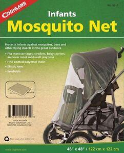 INFANT MOSQUITO NET, FINE KNITTED MESH, ELASTIC HEM WASHABLE COGHLANS 9915
