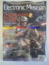ELECTRONIC MUSICIAN Magazine SEALED DIC 2007 Is Game Audio In Your Future? No cd