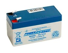 PS-1212 Power-Sonic 12 volt 1.2Ah Rechargeable lead acid 12V PS1212 Battery