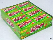 Chewy Red Hots Kick n Mango Lime Candy 24 Ct Candies Bulk Ferrara Pan Redhot Hot