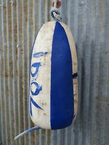 Authentic Medium Dungeness Crab Lobster Pot Buoy Tiki Hut -(CB539)