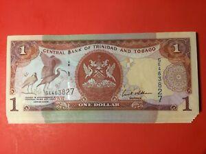 Trinidad & Tobago 2006 $1 pick #46 Bundle 74 pcs