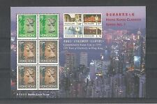 Hong kong 1993 definitive Bklt pane sg, 757cb u/m nh lot 2097A