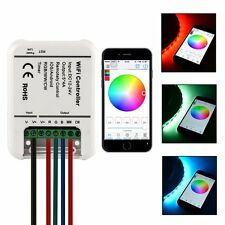 XCSOURCE DC 12-24V iOS Android WIFI Remote 5 Channels Controller For RGB LED Str