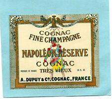 COGNAC VIEILLE ETIQUETTE COGNAC TRES VIEUX NAPOLEON RESERVE 25 FL EXPORT §15/09§