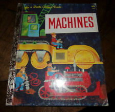 MACHINES WILLIAM DUGAN  1974 LITTLE GOLDEN BOOK VERY GOOD