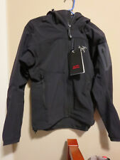 Mens New Arcteryx Gamma MX Jacket Hoody Size Small Color Blackbird Authentic