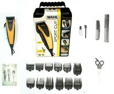 Wahl 20-Piece Combo Sport Cut No-Slip Self Sharpening Complete Haircut Kit #9423