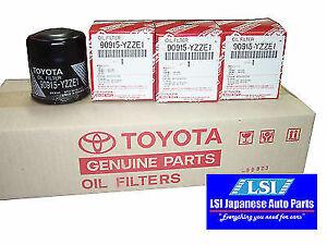 Toyota Genuine Oil Filter 90915-YZZE1 x10 Aus ref: z386