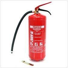 (4,55 €/Kg) Protex Abc Fire Extinguisher with Gauge 6kg DIN en3 Gloria pd6ga 802