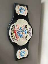 ECW WWE JAKKS CHAMPIONSHIP WRESTLING BELT WWF WCW