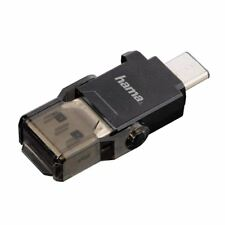 Hama USB 3.0 Type C microSD Card Reader for Mobiles, Dash Cams etc