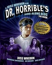 Dr Horrible's Sing-Along Blog Book-ExLibrary