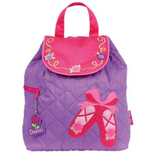 Stephen Joseph Girls Quilted Ballet Shoes Backpack - School - Dance - Travel Bag