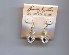 KENNETH LANE CRYSTAL APPLE earrings