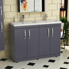Double Basin Home Bathroom Sinks