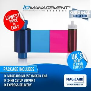 Magicard EN8 YMCKOK Colour Ribbon for Enduro/Rio Pro • 250 Prints • Low Prices