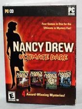 Nancy Drew: Ultimate Dare (PC, 2008) (New-Read)