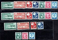 GERMANY 1949 BADEN & WURTENBERG RHEINLAND SETS Sc. 5443-5446, 5NB12-14, 6N39-6N4