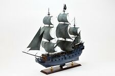 Black Pearl Pirate Tall Ship Wooden Ship Model 32""