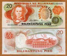 Philippines, 20 Piso, ND (1970) P-155, aUNC