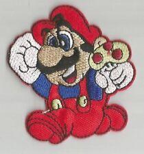 MARIO BROS Nintendo jeu video Toad champignon écusson / patch 6.5X6 cm