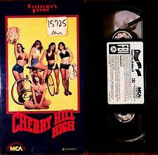 Cherry Hill High VHS 1977 RARE sexploitation comedy Linda Mcinerney Nina Carson