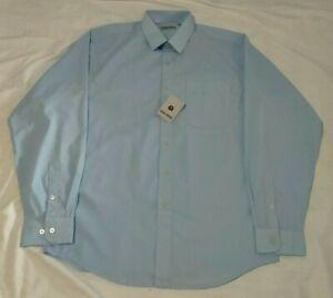 Gianni Armani Mens L/S Button Up Shirt Size M Blue *BNWT*