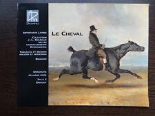 Catalogue de vente LE CHEVAL ART EQUESTRE COLLECTION GOURAUD TABLEAU SELLE 2005