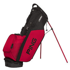 New Ping 2017 4-Series Golf Stand Bag (Black / Red)