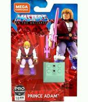 Mega Construx Masters of the Universe MOTU Prince Adam Pro Builders Figure NEW