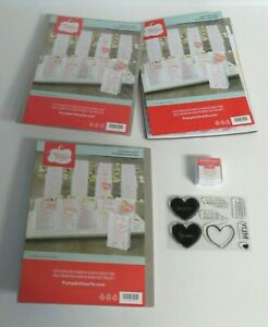 Stampin' Up ADORING ARROWS Paper Pumpkin Craft Kit Stamps+Extra Used Refill Kits