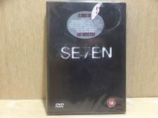 Se7en  DVD Brad Pitt Morgan Freeman New & Sealed 2 disc set