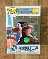 Funko Pop! Summer Stitch Scented Disney Lilo and Stitch #636