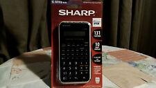 SHARP Scientific Calculator EL-501XB-WH