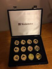 Set Of 18 Westminster diamond Wedding Coin Collection