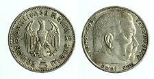 pcc1719_3) GERMANY THIRD REICH 5 Reichsmark 1936 A SILVER